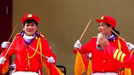 军鼓 管乐 中国人民解放军进行曲 武汉市春蕾女子军鼓队