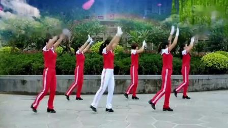 优柔广场舞邵东跳跳乐中老年健身操第十一套第三节_高清
