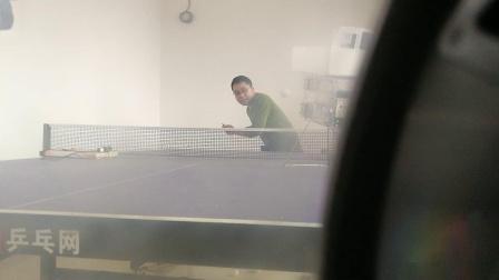玩雷旋乒乓球发球机 正手出台20190506