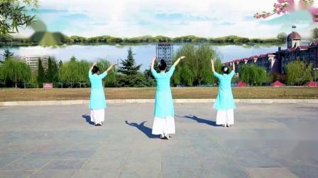 云裳广场舞-古典舞《十里桃花一生情》-口令教学及背面演示