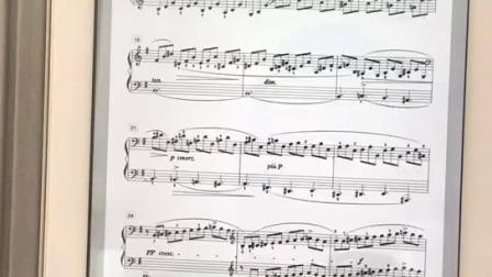 【钢琴助学堂】克练二十三单手15-20左