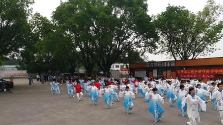 24式太极拳-梅州市太极拳健身协会交流活动(全体人员表演)
