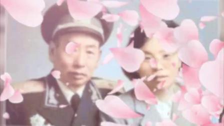 纪念两代江抗老战士于玲参加江抗八十周年