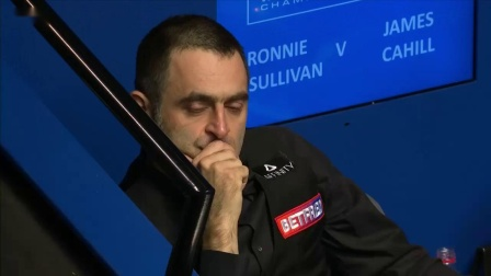James Cahill knocks Ronnie O'Sullivan out of the 2019 World Snooker Championship
