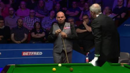 Stuart Bingham forfeits frame over the 3 miss rule. 2019 World Champ