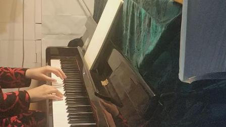 女儿练琴,《波洛奈兹舞曲》
