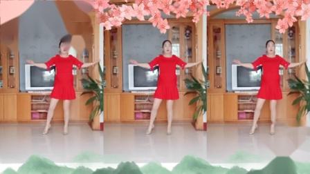 彩虹丹广场舞 红枣树 柔美形体舞3人版