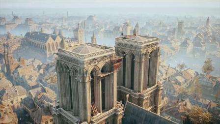 《刺客信条大革命》巴黎圣母院 总揽