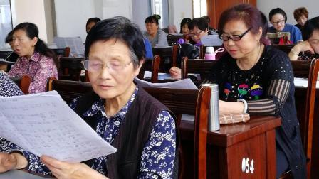 太湖老年大学二班黄梅戏《梅花恋》