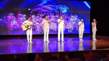 歌曲《我们都是追梦人》演唱者:刘艳杰  于青海  张宗友  张云飞  张佳佳(均为视力残疾)