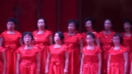 """草莓🍓熟了--凤凰合唱团""""塞上江南神奇宁夏""""西部放歌合唱交流视频"""