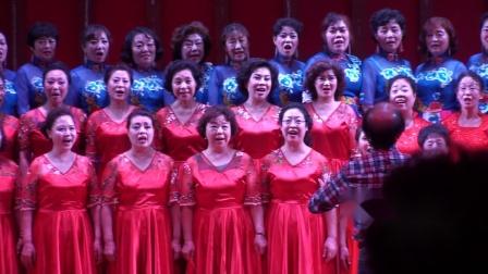 """草莓🍓熟了--阳泉干部合唱团、津之声合唱团、凤凰合唱团""""塞上江南神奇宁夏""""西部放歌合唱交流视频"""