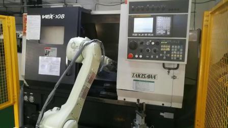 库比克机器人CNC车床上下料