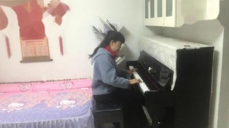 钢琴曲(我和我的祖国)