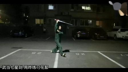 武当七星剑-周晔练习花絮