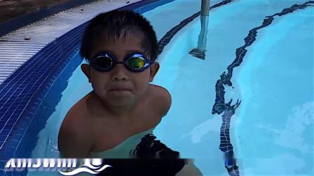 自由泳1-呼吸控制和有节奏的呼吸