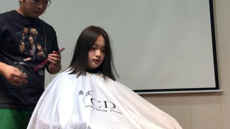 (阿军美发网)CD网红发型剪裁~上集(完整版)