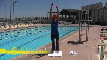 拉伸1-站立的手臂摆动-相反的方向