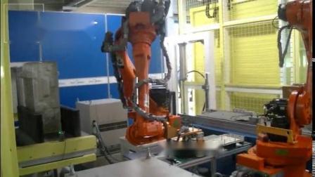 微链机器人装底盘