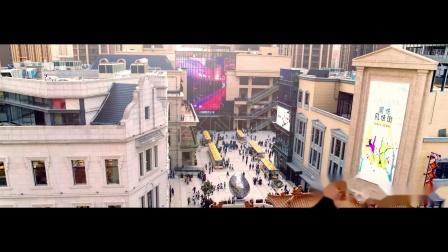 NEXNOVO晶泓科技-西安四海唐人街透明LED显示屏项目