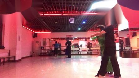沈阳赵波老师在红玫瑰舞厅四步造型