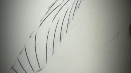 无框线条眉 三层仿生开运眉的操作演示
