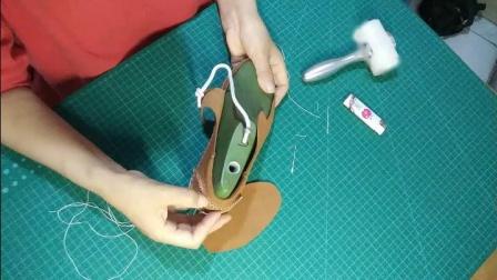 爱剪辑-无胶手作鞋——缝制围盖
