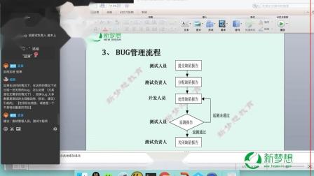 【新梦想软件测试】接口测试系列课程第七节软件测试基本功—BUG状态与流程(1)