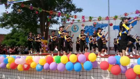 """中江县永安镇中心小学四年级二班2019年庆""""六一""""舞蹈《卡路里》"""