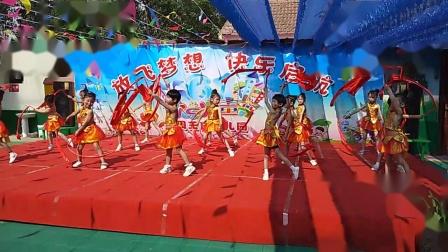 《中国美》大班舞蹈
