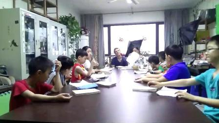 俄罗斯朋友来到西西英语课堂
