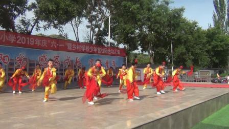 陕北榆林子洲:师家坪创新实验小学过六一片段(童年真美)
