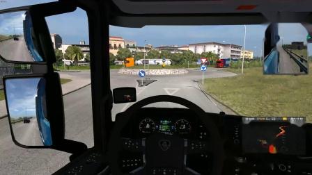 欧洲卡车模拟2测试版本首发中文导航
