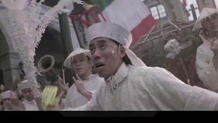 李连杰甄子丹首次同台演出,甄子丹用一块布,狂虐李连杰