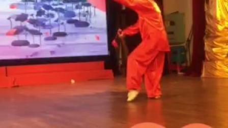 山东滕州张艳获(家天下杯)全国中老年才艺大赛桂林站陈氏太极剑金奖