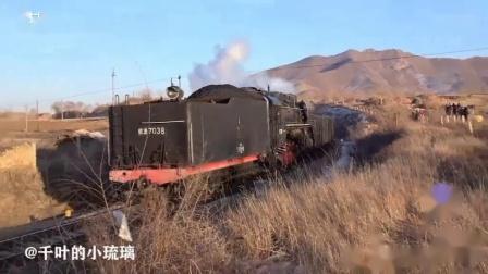 前进蒸汽机车+东风8B