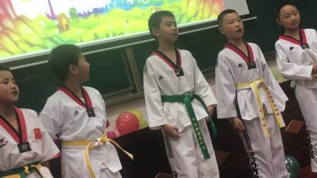 杨雨枫跆拳道3