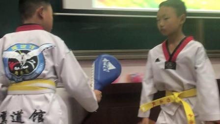 杨雨枫跆拳道2