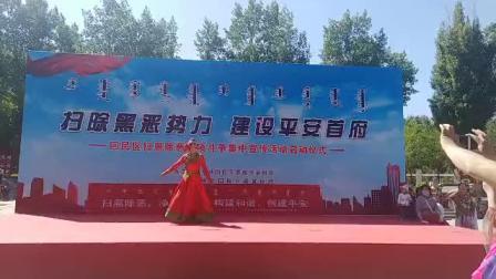 蒙古舞,《鸿雁》表演者,王荣