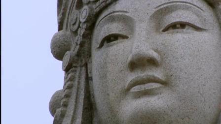 莆田 眉洲岛风景 海岸海浪 古建筑 妈祖像后期编辑 实拍视频素材