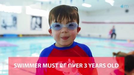 宝宝学游泳系统课程-水平三计划-技能3-求生泳