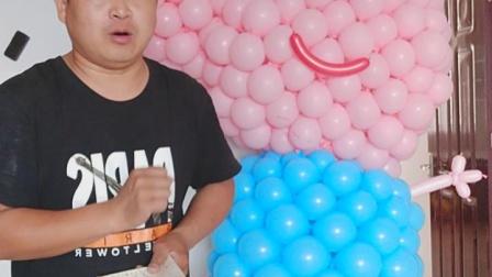 气球布置教程 57   小猪佩奇  乔治  气球布置视频教程 气球人偶服   气球服装  气球布置现场教学 现场培训  气球小王子文德明