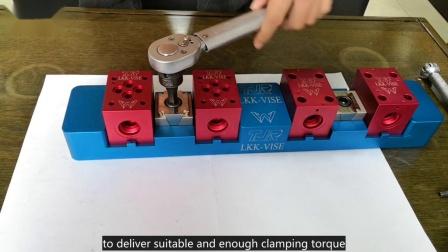 TJR Vise - cube workpiece