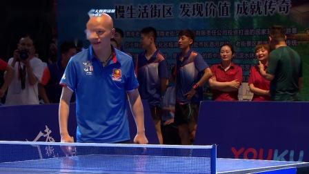 胡俊超vs杜兰 手机乒乓大战