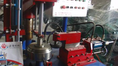 不锈钢圈液压自动折边、卷边机