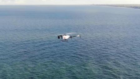 SARAH 4.0 轻型电动无人直升机系统海上飞行