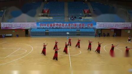 2019年重庆老年人柔力球(套路)比赛沙坪坝队