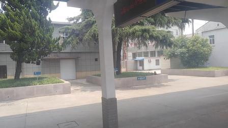 k34出马鞍山站。