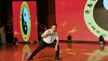 济南市莱芜区太极拳协会成立大会,主席李建龙即兴展演陈式太极拳