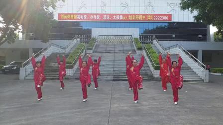 健身气功大舞(绿叶8人演练)